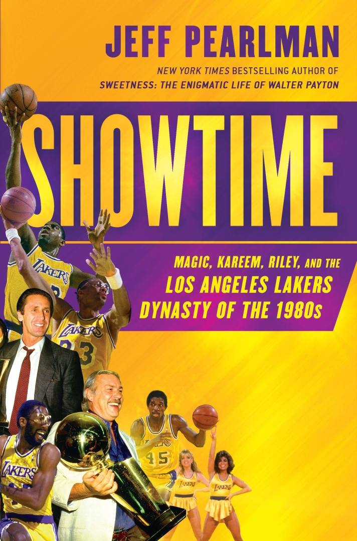 Showtime by Jeff Pearlman, jacket photo.