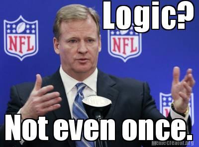 roger goodell nfl logic